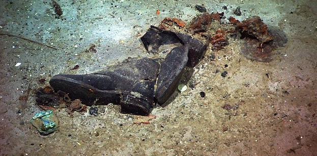 Τιτανικός: Φωτογραφίες από τα πράγματα των ναυαγών