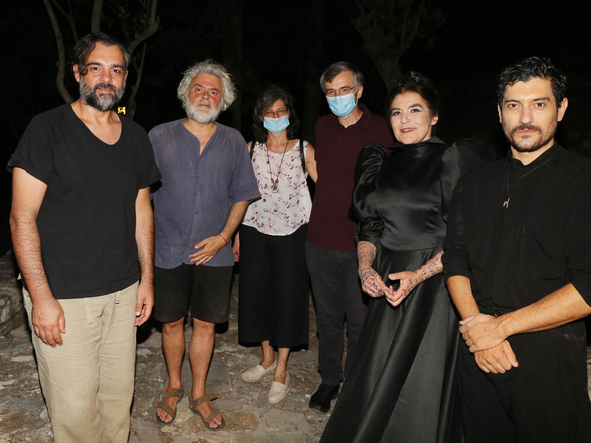 Σωτήρης Τσιόδρας Επίδαυρος: Με μάσκα προστασίας είδε τους Πέρσες ...