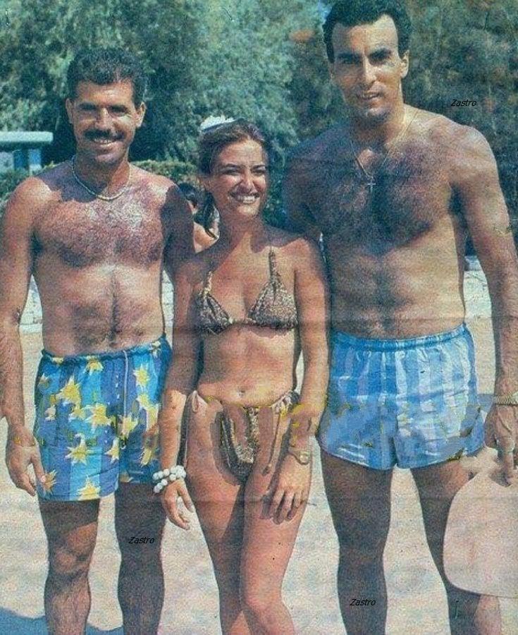 Γκάλης και Αναστόπουλος μαζί στην παραλία σε σπάνια φωτογραφία (+pics)