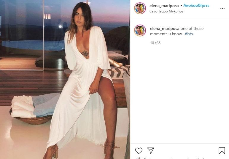 Έλενα Κρεμλίδου Instagram: Πάντα εντυπωσιακή ό, τι πόζα και να πάρει
