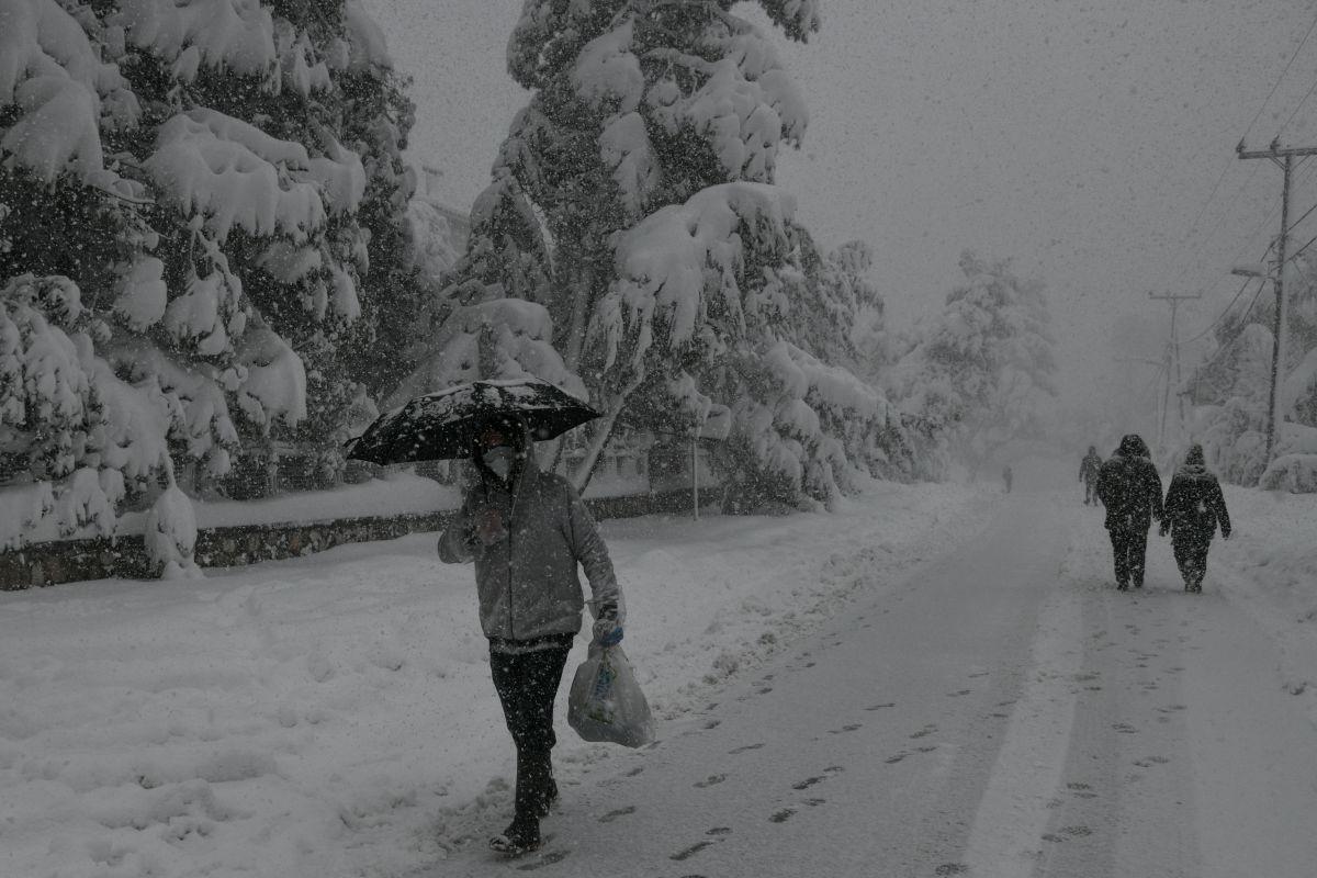 Γιάννης Καλλιάνος: Χιόνια την 25η Μαρτίου