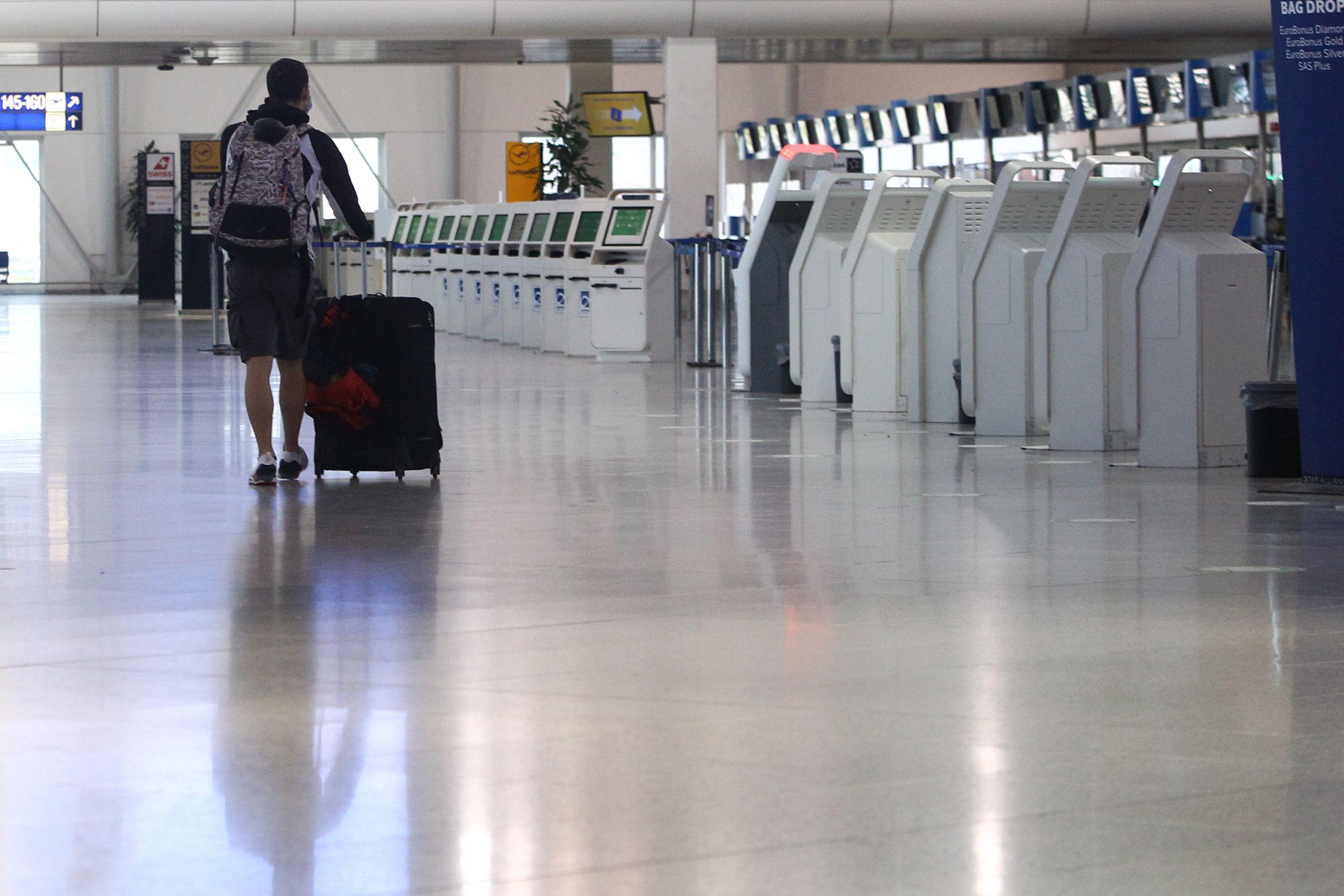 πτήσεις εσωτερικού lockdown