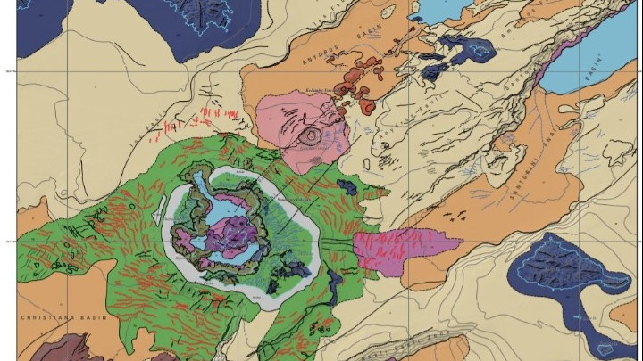 Χάρτης Σαντορίνη