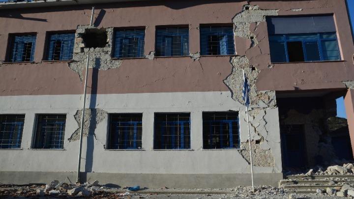 Ελασσόνα: Το σχολείο μετά τον σεισμό