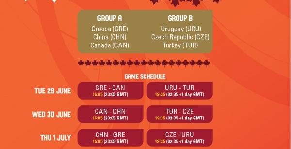 Προολυμπιακό τουρνουά: Το πρόγραμμα
