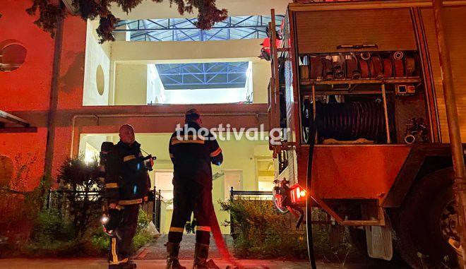 Φωτιά Θεσσαλονίκη: Πυρκαγιά σε Κέντρο Αποκατάστασης