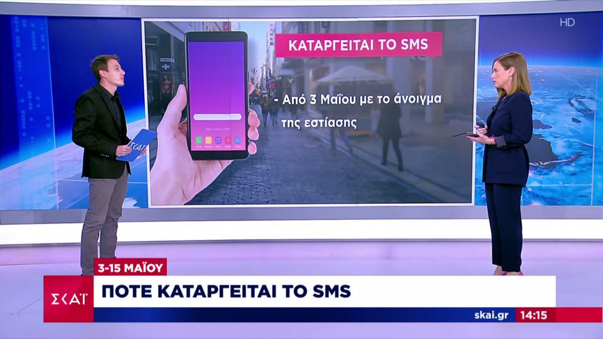 SMS στο 13033: Πότε καταργείται
