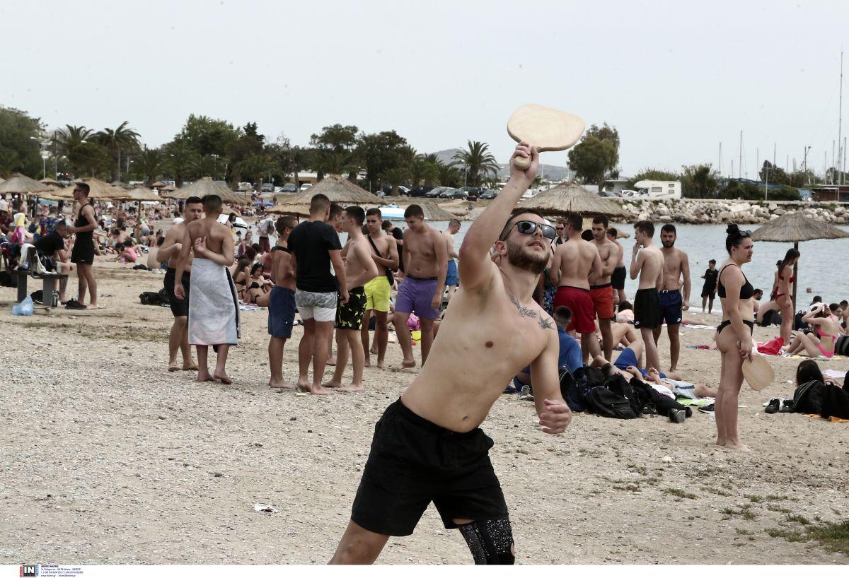Παραλίες Αττικής: Δεν έλειπαν και αυτοί που θέλησαν να αθληθούν