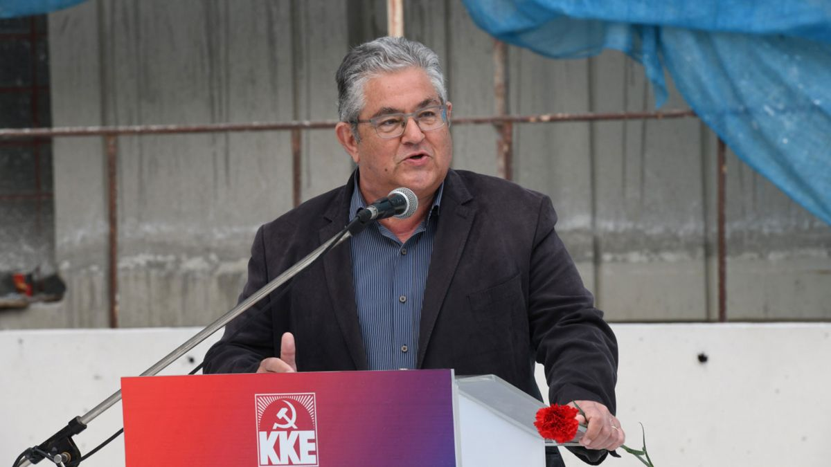 Δημήτρης Κουτσούμπας: Να συναντηθούμε στην αυριανή απεργία
