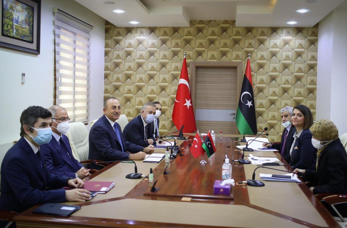 Λιβύη Τουρκία: Να φύγουν όλα τα ξένα στρατεύματα είπε η Λίβυα ΥΠΕΞ στον Τσαβούσογλου