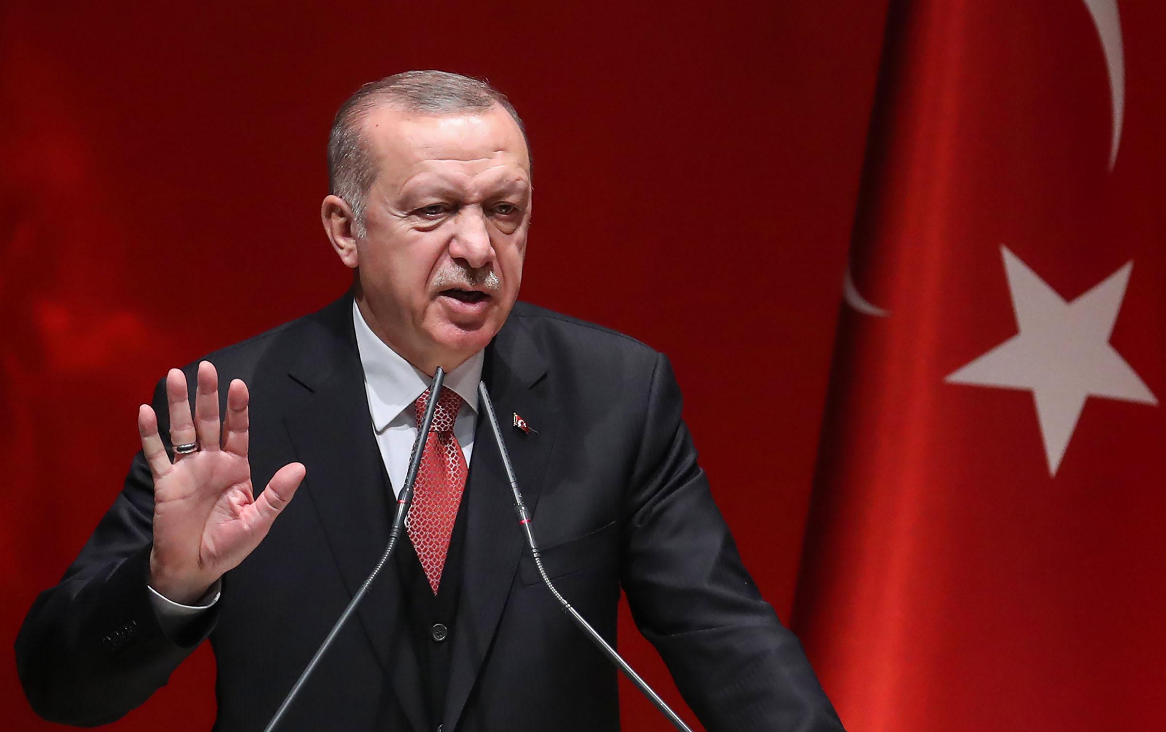 Ερντογάν από G20